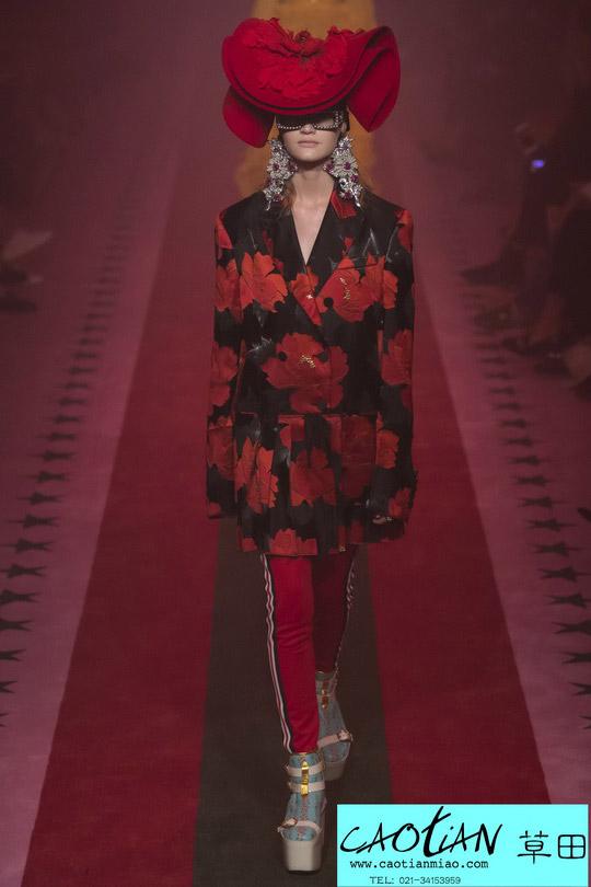 时尚秀场_米兰时装周_Gucci 2017春夏_上海女装设计工作室