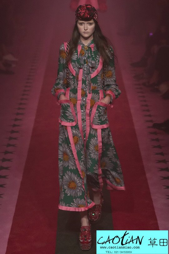 时尚秀场_米兰时装周_Gucci 2017春夏_上海服装设计工作室
