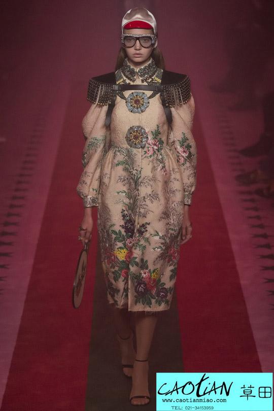 时尚秀场_米兰时装周_Gucci 2017春夏_上海服装工作室